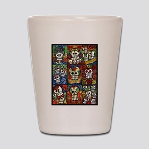 Day of the Dead Sugar Skulls Collection Shot Glass