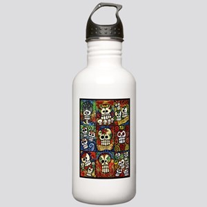 Day of the Dead Sugar Skulls Collection Water Bott