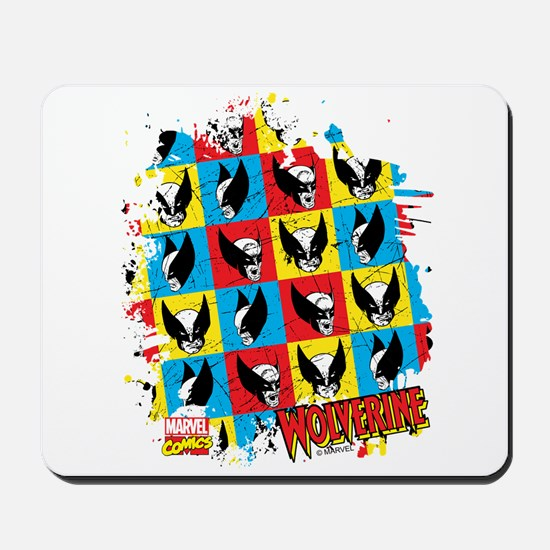 Wolverine Collage Mousepad
