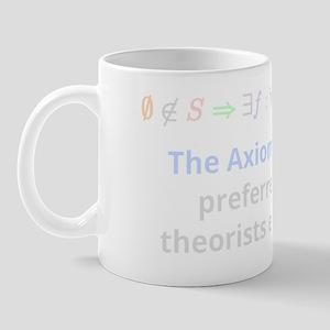 The Axiom of Choice (for dark backgroun Mug