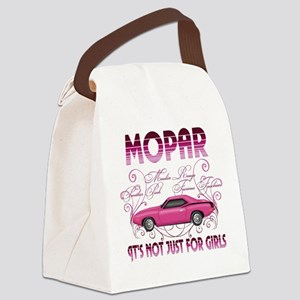 Mopar - Its not just for girls Canvas Lunch Bag