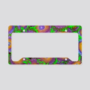Zoanthid colony License Plate Holder