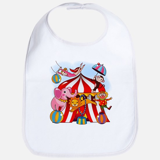 The Circus is in Town Bib