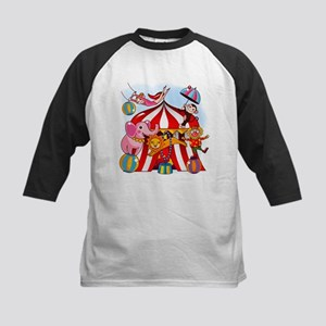 The Circus is in Town Kids Baseball Jersey