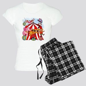The Circus is in Town Women's Light Pajamas