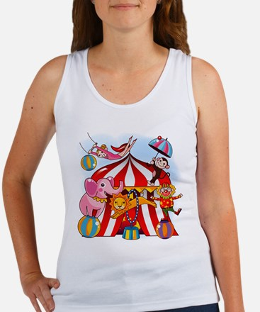 The Circus is in Town Women's Tank Top