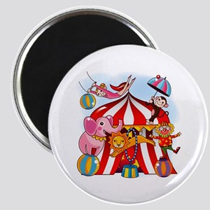 The Circus is in Town Magnet