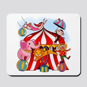 The Circus is in Town Mousepad
