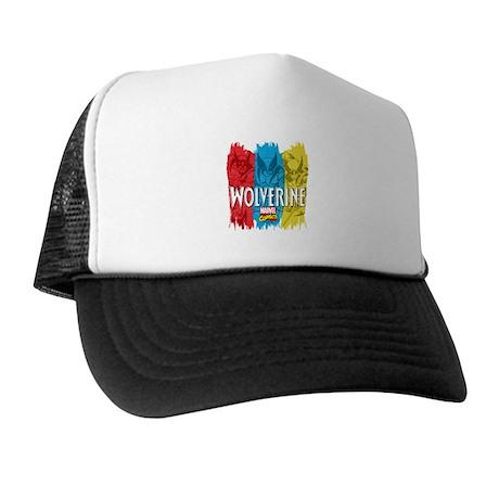 Wolverine Paint Trucker Hat