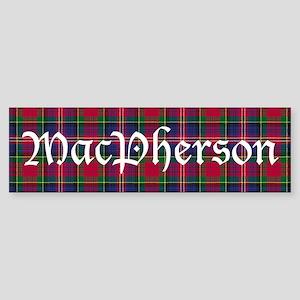 Tartan - MacPherson Sticker (Bumper)