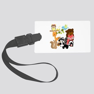 Forest Friends Large Luggage Tag
