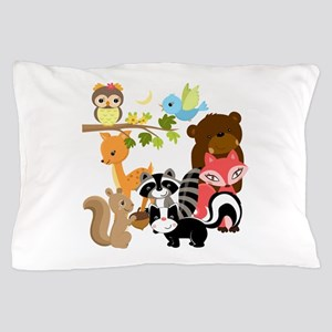 Forest Friends Pillow Case