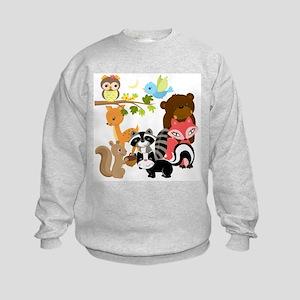 Forest Friends Kids Sweatshirt