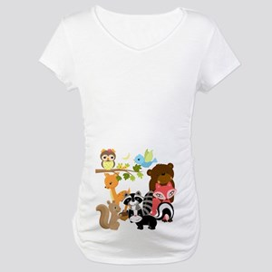 Forest Friends Maternity T-Shirt