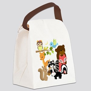 Forest Friends Canvas Lunch Bag