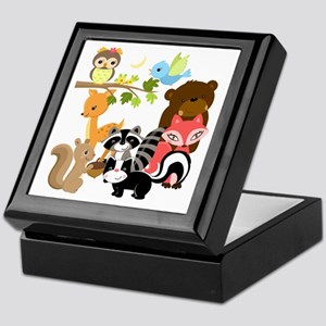 Forest Friends Keepsake Box