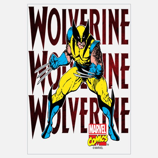 Wolverine Wall Art