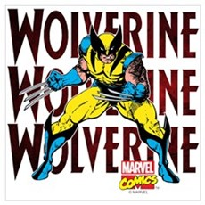 Wolverine Wall Art Canvas Art