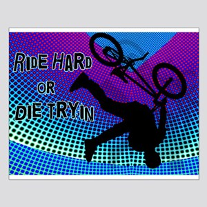BMX Fractal Movie Marquee Ride Hard Posters
