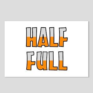 HALF FULL Postcards (Package of 8)