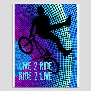 BMX Fractal Movie Marquee live 2 ride 2 Posters