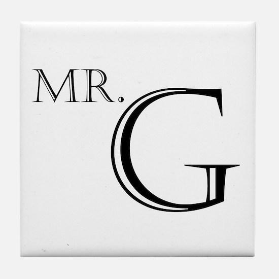 Mr. G Tile Coaster
