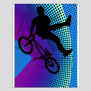 BMX Fractal Movie Marquee Vertical Small Poster