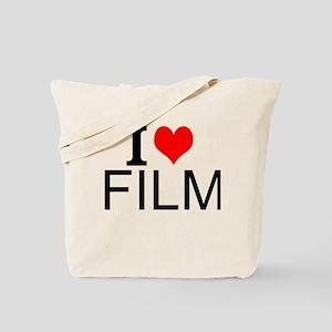 I Love Film Tote Bag
