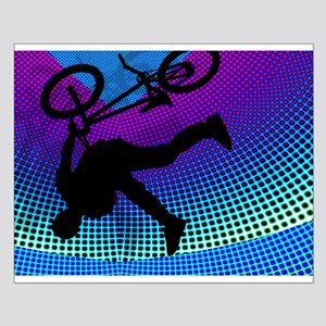 BMX Fractal Movie Marquee Horizontal Small Poster
