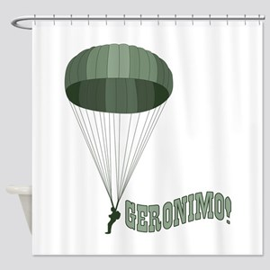 Geronimo! Shower Curtain