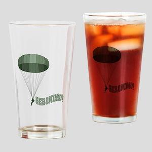 Geronimo! Drinking Glass