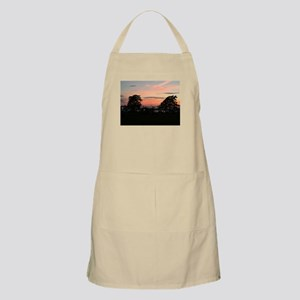 Sunset between the trees Apron