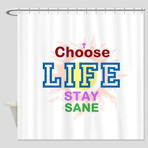 Pro Choice Shower Curtain