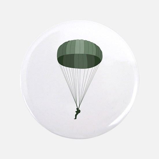 """Airborne Paratrooper 3.5"""" Button"""