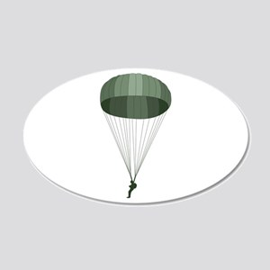 Airborne Paratrooper Wall Decal
