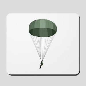 Airborne Paratrooper Mousepad