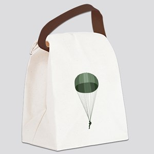 Airborne Paratrooper Canvas Lunch Bag