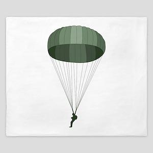 Airborne Paratrooper King Duvet