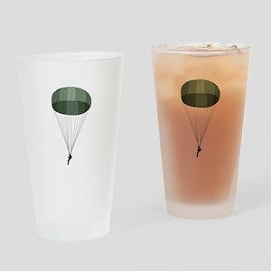 Airborne Paratrooper Drinking Glass