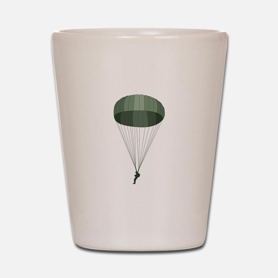 Airborne Paratrooper Shot Glass