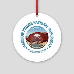 Rainbow Bridge NM Round Ornament