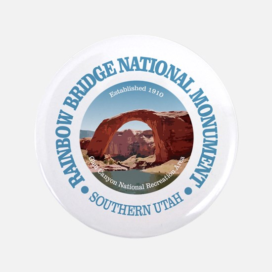 "Rainbow Bridge NM 3.5"" Button"