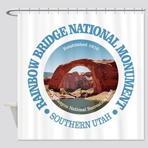 Rainbow Bridge NM Shower Curtain