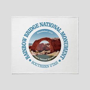 Rainbow Bridge NM Throw Blanket