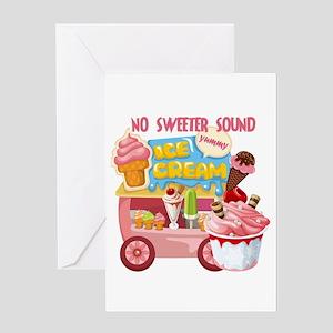 The Ice Cream Truck Greeting Card