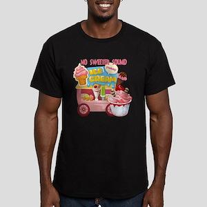 The Ice Cream Truck Men's Fitted T-Shirt (dark)