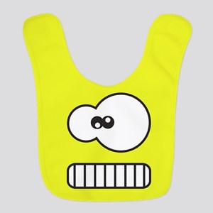 Silly Monster Face Bib