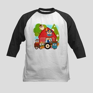 Owl Farmers Kids Baseball Jersey