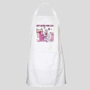 Life's Better With Cats Apron