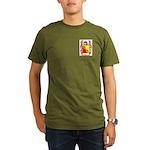 Fern Organic Men's T-Shirt (dark)